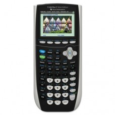 Texas Instruments - TI-84Plus C Silver Edition Programmable Color Graphing Calculator, 10-Digit LCD TI84PLUSCSE (DMi EA