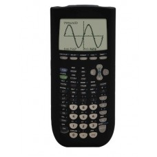 Guerrilla Silicone Case for Texas Instruments TI-84 Plus Graphing Calculator, Black