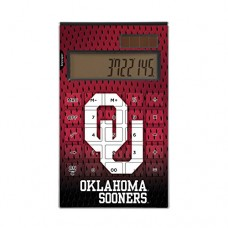Oklahoma Sooners Desktop Calculator NCAA