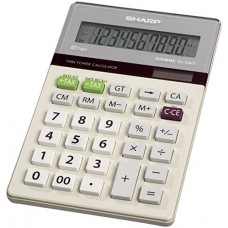 Sharp EL334W EL-334W Large Desktop Calculator, 12-Digit LCD