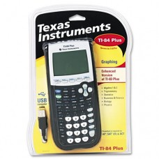 Texas Instruments : TI-84 Plus Graphing Calculator, 10-Digit LCD -:- Sold as 2 Packs of - 1 - / - Total of 2 Each