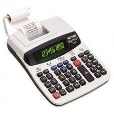 - 1310 Big Print Commercial Thermal Printing Calculator, Black Print, 6 Lines/Sec