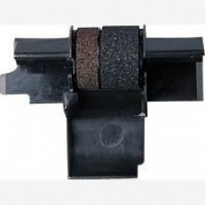 2 X Compatible Seiko IR-40T Black / Red Ink Rollers , Works for CANON P170DH, CANON P200DH, CANON P200DHII, CANON P200DHIII