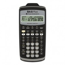 Texas Instruments BAIIPLUS - BAIIPlus Financial Calculator, 10-Digit LCD-TEXBAIIPLUS